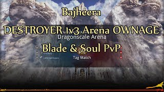 Bajheera - Hilarious Destroyer 1v3 Arena OWNAGE - Blade & Soul PvP (NA Beta)