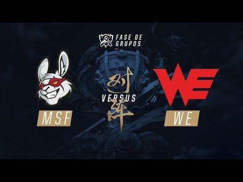 Misfits x Team WE (Fase de Grupos - Dia 7) - Mundial 2017