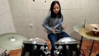 """Gambar cover Netral, """"Garuda di Dadaku"""" Drum Cover by Nadira Nuha Agristya"""