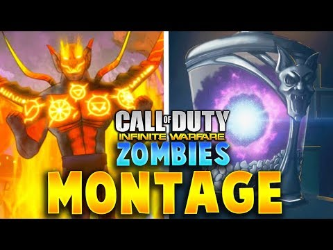 Infinite Warfare Zombies Super Easter Egg Montage!