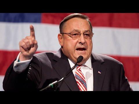 Governor: Trump Should Show 'Authoritarian Power'