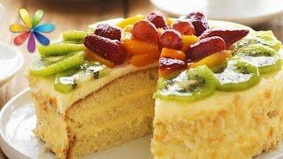 Миндальный пирог из киви: витаминный рецепт (повтор)(, 2016-11-25T19:24:18.000Z)