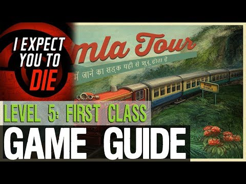 I Expect You To Die - Level 5: First Class All Souvenirs |
