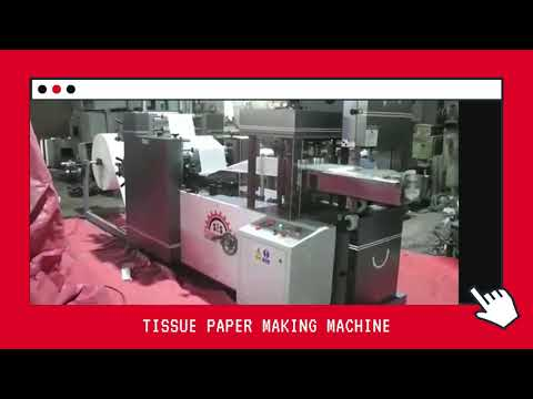 Tissue Paper & Canister Wet Wipes Machine