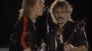 Scorpions - Oakland Coliseum Stadium 1985