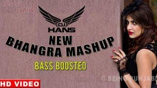 Bhangra Mashup - DJ Hans Dhol Mix | Latest Punjabi Songs Nonstop | Bhangra Megamix