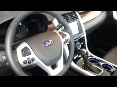 Interior Ford Edge Limited 2014 versión para Colombia FULL HD