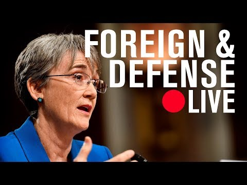 Secretary of the Air Force Heather Wilson: From Spark Tank to think tank | LIVE STREAM