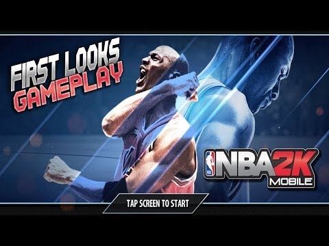 NBA 2K MOBILE GAMEPLAY!! FIRST LOOKS| MICHAEL JORDAN| MyTeam On Mobile & More!!