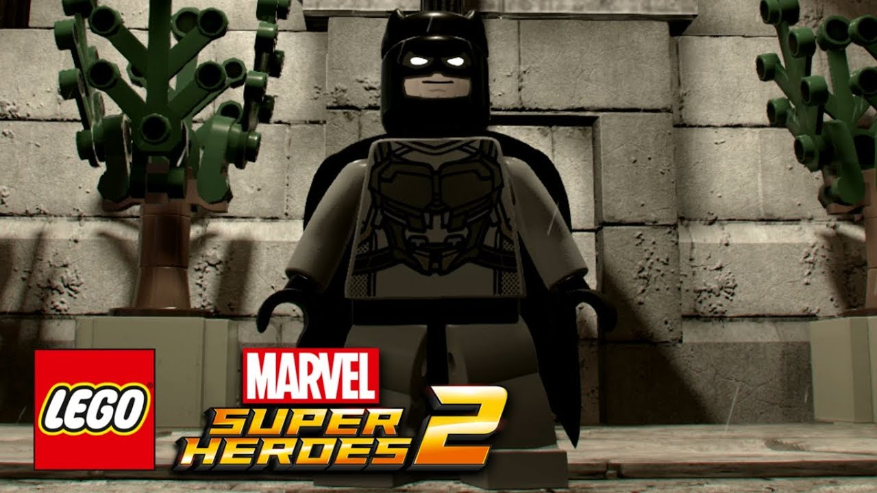 Lego Marvel Super Heroes 2 How To Make Batman Youtube Avengers Mask