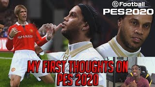 IS PES 2020 WORTH BUYING OR NOT $$?! MY FIRST THOUGHTS!