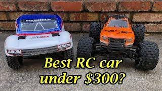 Best RC car under $300?  Associated ProSC10 vs. Arrma Granite 4x4 BLX
