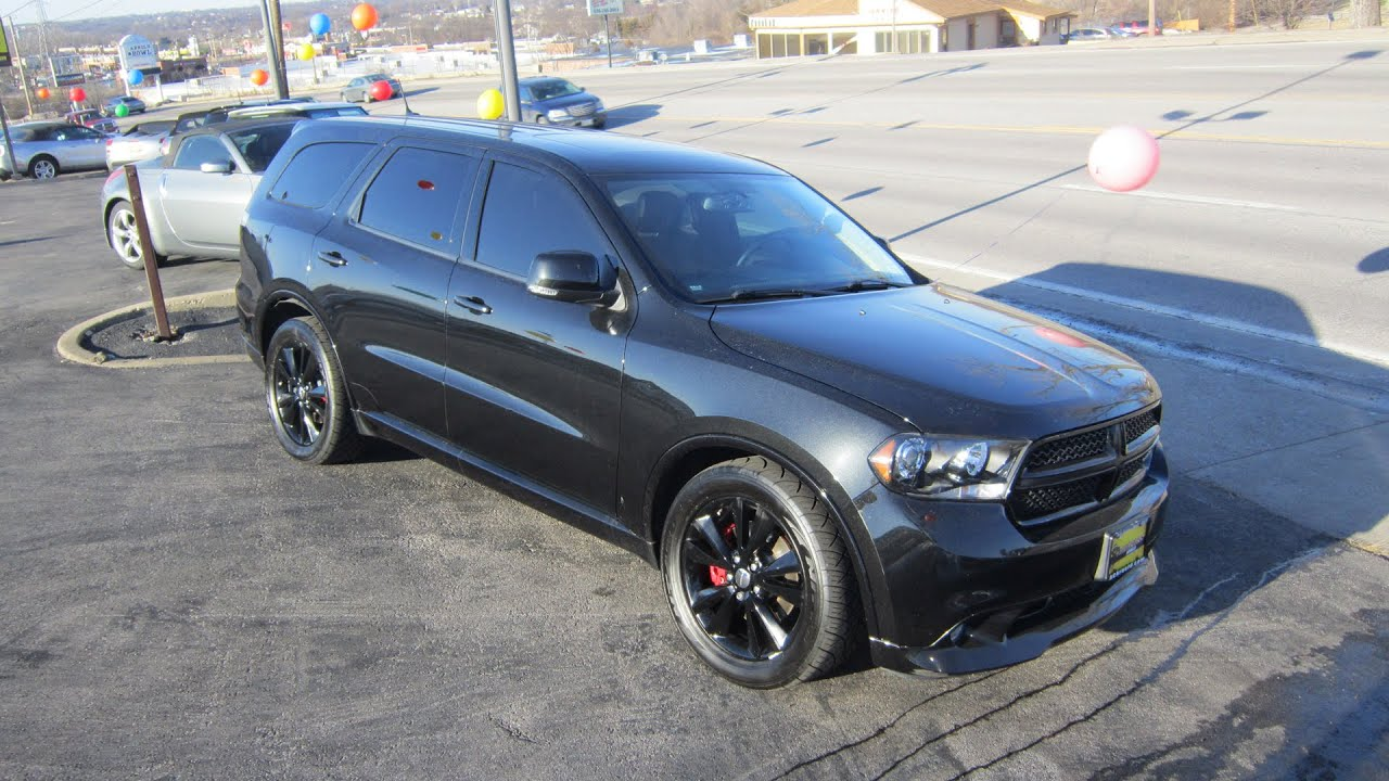 2015 Dodge Durango For Sale >> 2011 Dodge Durango R/T AWD | Full Tour & Start Up - YouTube