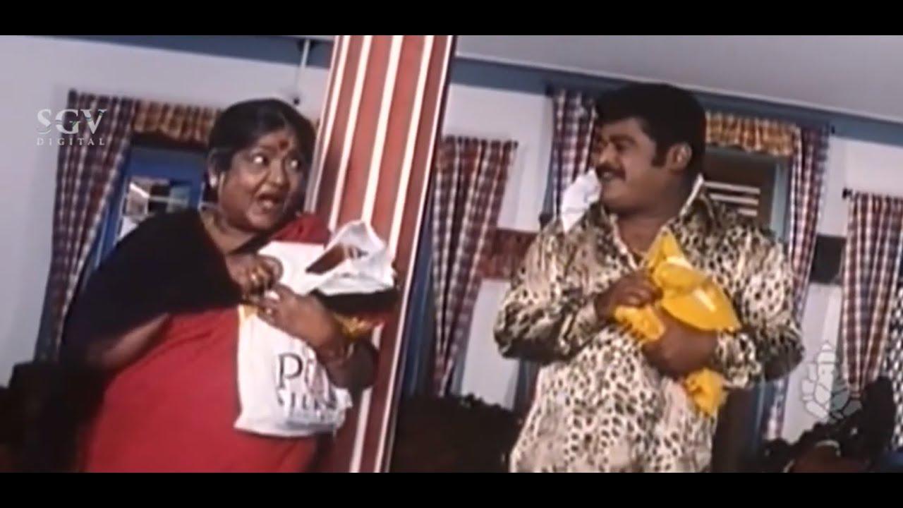 Jaggesh Steal Money From Doddanna To Bring Saree | Evergreen Jaggesh Comedy Scenes | Kannada Movie