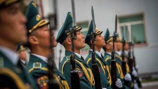 Кровавый инцидент в Нацгвардии Кыргызстана: солдат на посту застрелил двух сержантов(Кровавый инцидент в Нацгвардии Кыргызстана: солдат на посту застрелил двух сержантов, боясь избиения Накан..., 2015-12-29T15:36:18.000Z)