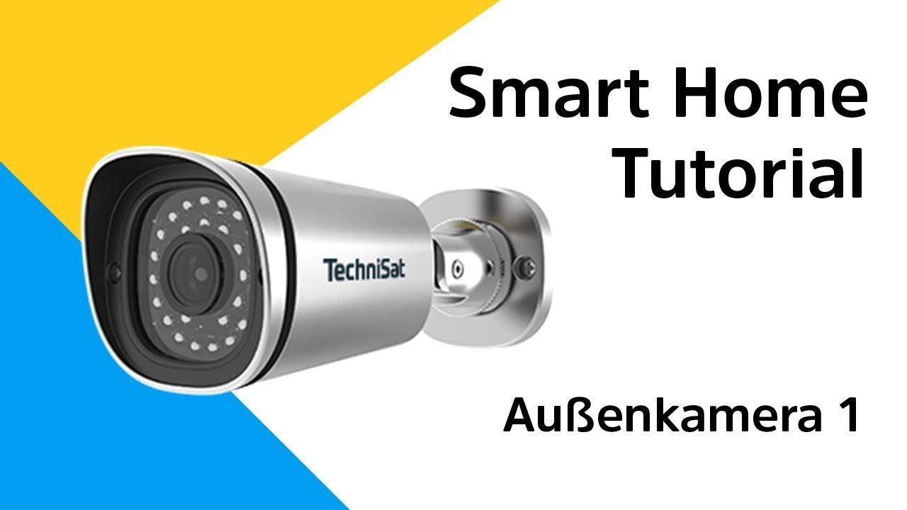 Video: Außenkamera 1 Anleitung | So binden Sie die Außenkamera 1 in Ihr Smart Home System ein.