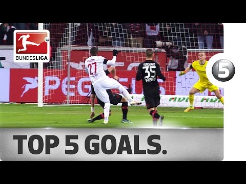 Top 5 Goals - Modeste, Wood and More with Incredible Strikes