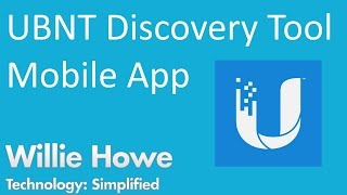 Ubiquiti Discovery Tool Mobile App screenshot 1