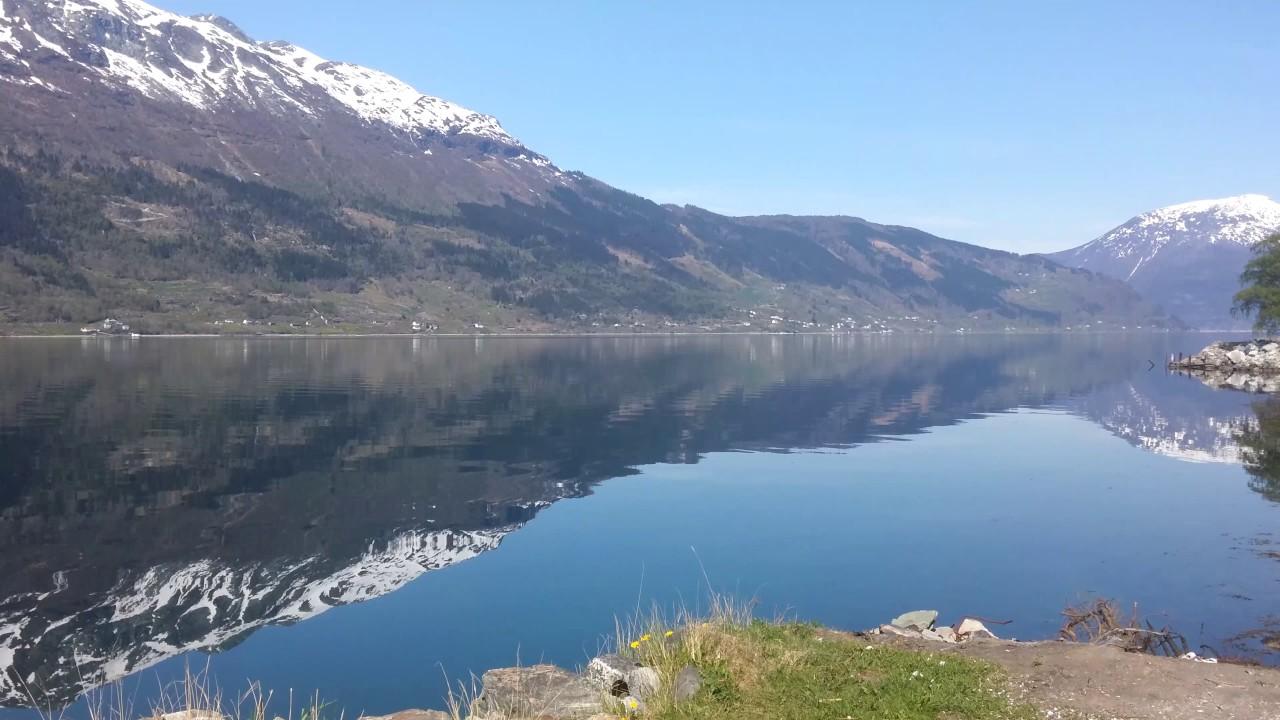 Фьорды Норвегии, видео природы в разрешении 4K! Релакс музыка. Природа видео
