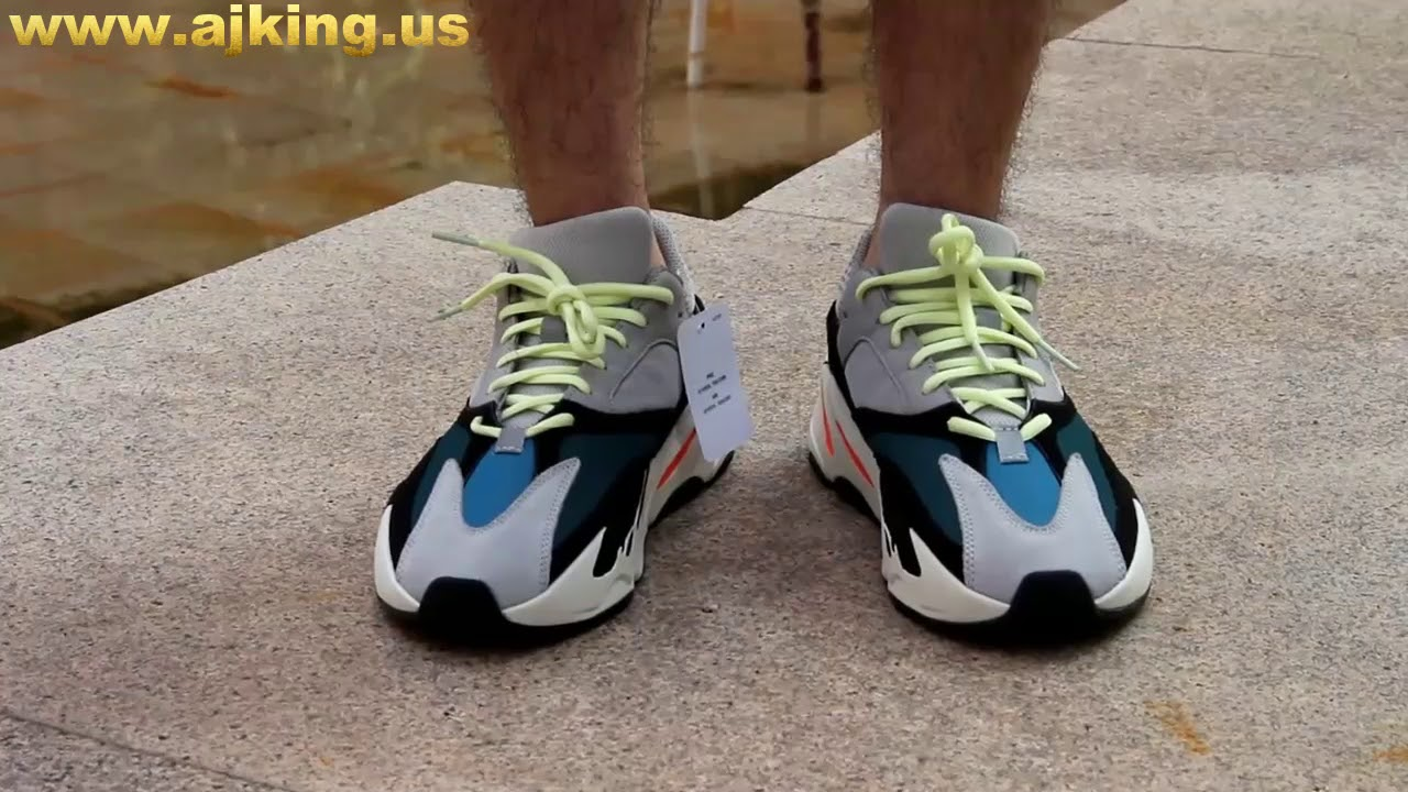 42fa2e2f598ee Adidas Yeezy Wave Runner 700 ON FEET HD Review From www.ajking.us ...