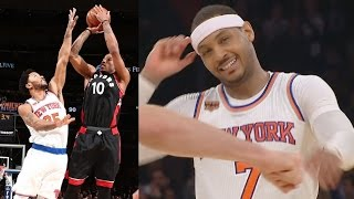 DeMar DeRozan Game Winner! Lowry Out for Season! Raptors vs Knicks