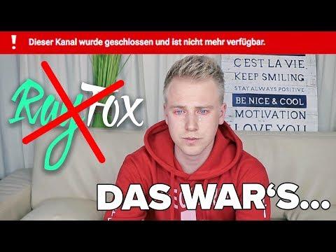 Mein Kanal wird GELÖSCHT ! 😭 Das Ende von YouTube… II RayFox