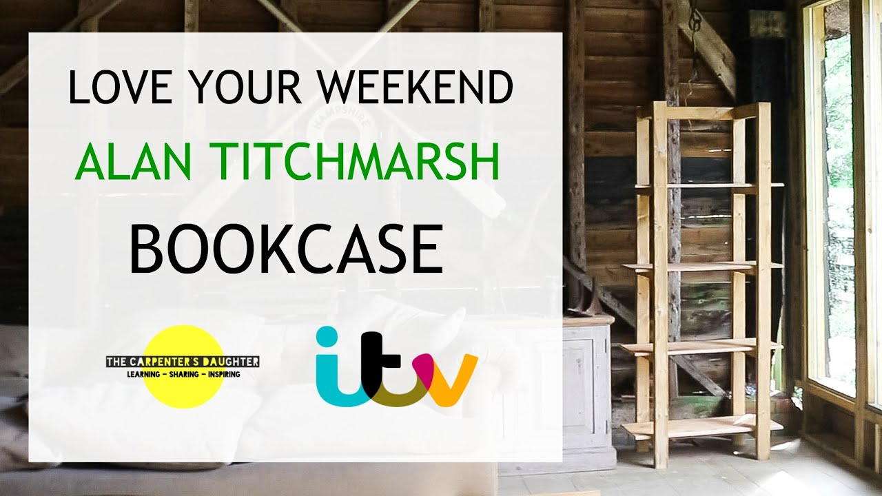 Bookcase for Alan Titchmarsh's Love Your Weekend | The Carpenter's Daughter