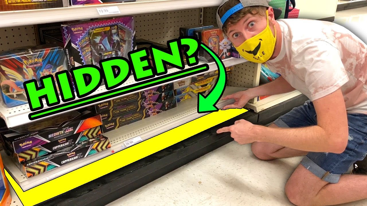 Download SEARCHING FOR HIDDEN POKEMON CARDS...Under A Store Shelf & Look What I Found! Opening #72