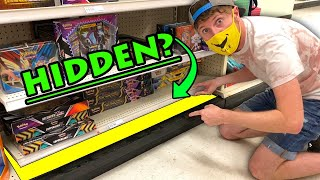 SEARCHING FOR HIDDEN POKEMON CARDS...Under A Store Shelf & Look What I Found! Opening #72