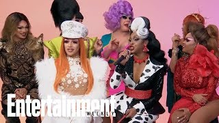 'RuPaul's Drag Race' Season 11 Queens Answer Questions From Past Contestants | Entertainment Weekly