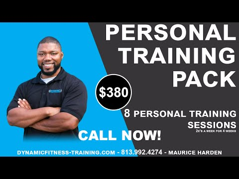 South Tampa Personal Trainer - 813-422-5671