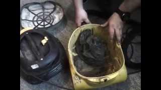 видео Ремонт пылесосов Karcher