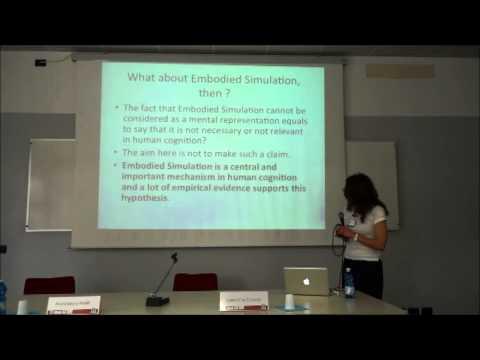 "SRSSP - Valentina Cuccio ""Embodied Simulation and Mental Representations..."""