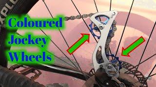 How to Change Jockey Wheels of MTB in Hindi   F 2 P