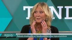 """Pamela Andersson """"Jag hade ingen aning om allt som kunde hända i munnen""""  - Malou Efter tio (TV4)"""