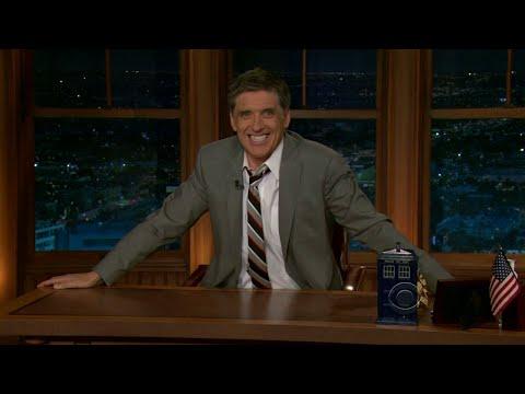 Late Late Show with Craig Ferguson 3/7/2011 Aaron Eckhart, Paula Poundstone