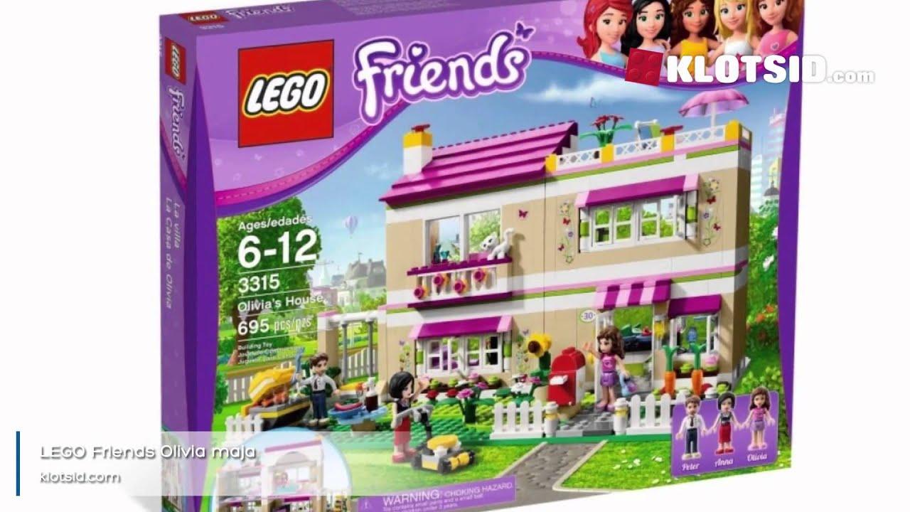 d849965a10d LEGO Friends Olivia maja (3315L) - YouTube
