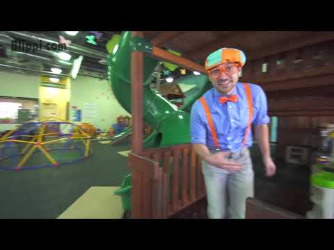 Blippi Toys! Educational Videos for Toddler by Blippi An Indoor Playground Play Place