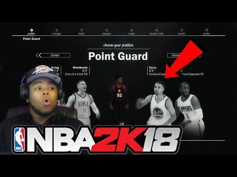 NBA 2K18 MyPark ARCHETYPES Theory