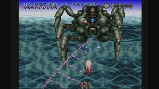 Axelay (SNES) - 2-ALL Clear on Hard & Very Hard