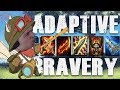 Can I 1v9 with this ADAPTIVE BRAVERY Teemo build?  The NO TEAM, SUB-OPTIMAL ITEM CHALLENGE!