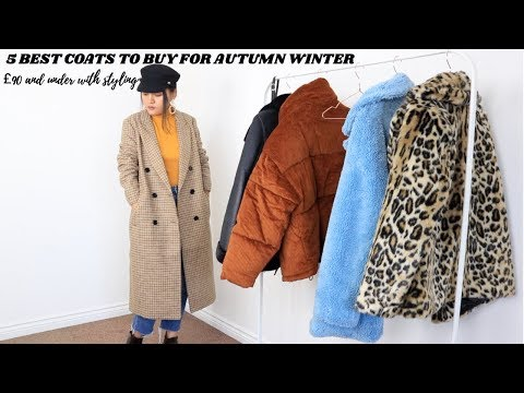 5 BEST COATS TO BUY FOR AUTUMN WINTER UNDER £90 WITH STYLING⎜Fashionbeautybug