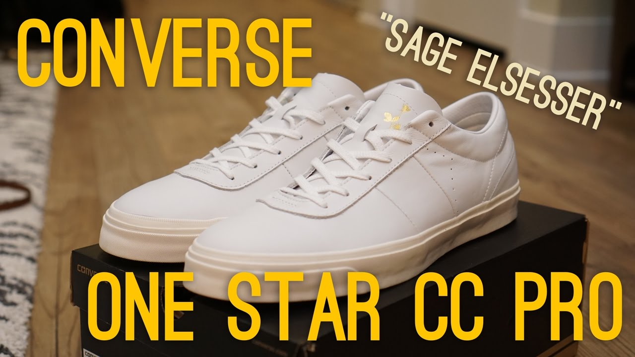 8a52a8fb5a09 Converse Sage Elsesser One Star CC Pro Overview - YouTube