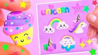 DIY 3D Unicorn Stickers, Learn How To Make Cutest Unicorn Crafts & School Supplies