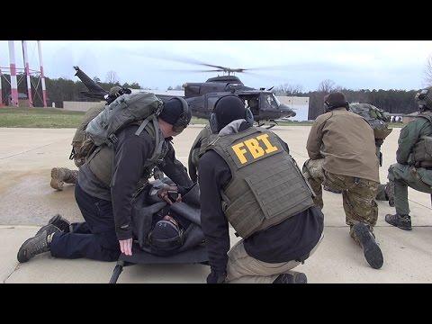 FBI Medics Train for Tactical Situations