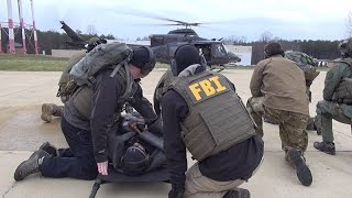 FBI Medics Train for Tactical Situations