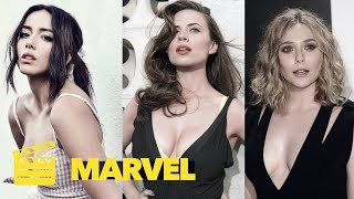 Top 10 HOTTEST MARVEL Actresses (PART 2) ★ SEXIEST Actresses