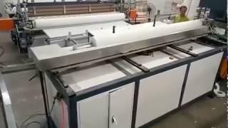 자동 화장지 점보롤   재단기 두루마리   기계 설비