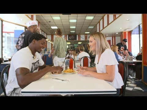 Tracy Walker visits downtown Detroit's Coney Islands