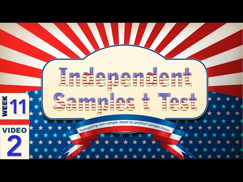 A Gentle Introduction to the Independent Samples t Test (11-2)